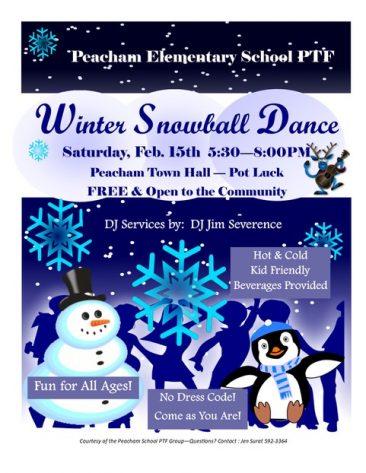 Winter Snowball Dance at Peacham Winter Carnival 2020