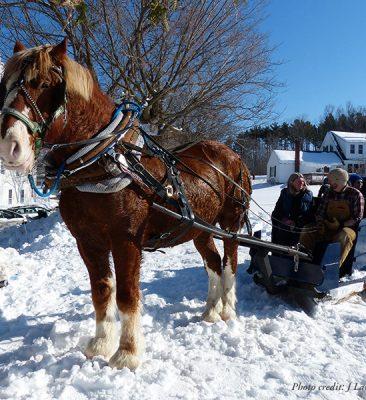 Winter Carnival in Peacham, Vermont
