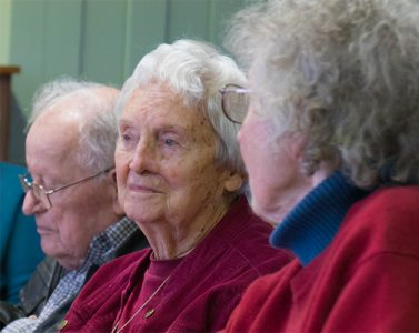 Aging Well in Peacham (AWIP) - volunteers and participants