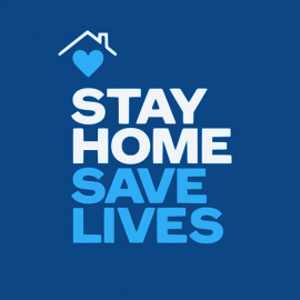 Stay home - save lives - COVID-19