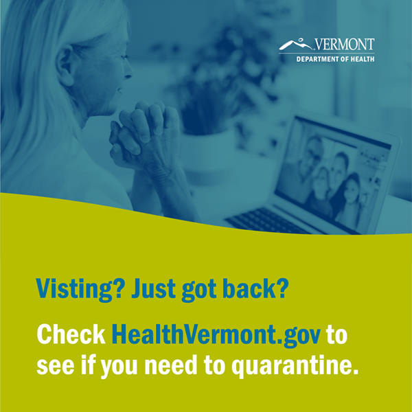 Vermont Dept of Health poster